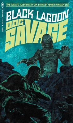 Doc Savage vs Creature From the Black Lagoon