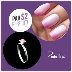 #ParPerfeito: ROSA significa romantismo, ternura, ingenuidade e amor.  ➸ http://pol.vu/19e