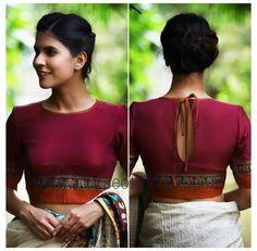 Blouse Back Neck Designs, Fancy Blouse Designs, Bridal Blouse Designs, Designs For Dresses, Saree Jacket Designs, Cotton Saree Blouse Designs, Stylish Blouse Design, Designer Blouse Patterns, Bollywood