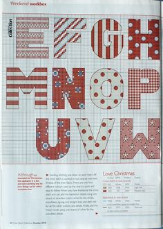 Alphabet cross stitch - part 2.   Gallery.ru / Фото #40 - Крест - Yra3raza