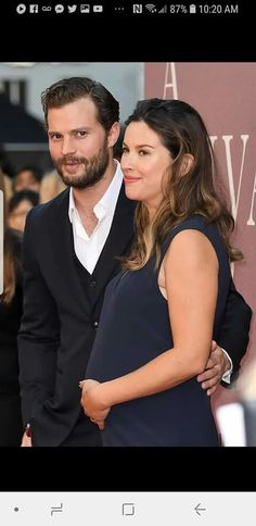Look At The Face Of Jamie Dornan 😈 & His Lovely Wife 📷🎬 Christain Grey, Paul Spector, Jaime Dornan, Jamie Fraser, Fifty Shades Of Grey, Hot Guys, Christian, Actors, Photography