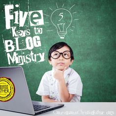 Five keys to blog ministry that I believe are essential. These keys can be held true to anything including other types of Christian Ministries. These five keys can help you start your blog ministry.