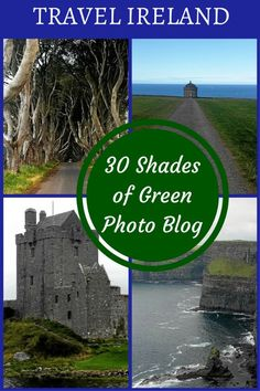 Ireland Travel - Photo Blog  30 Shades of Green  I realized just how much there is to see in Ireland- Beautiful abandoned castles, fascinating history, spectacular scenery and hundreds of cheerful pubs.  #ireland #irelandphotos #souldrifters #worldtravels