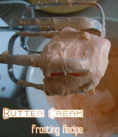 Easy Butter Cream Frosting Recipe using lowfat Cream Cheese