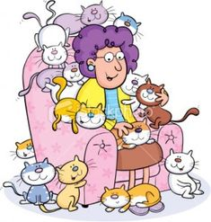 Crazy Old Cat Lady