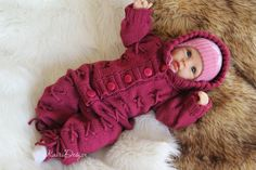Baby Knitting Pattern baby jumpsuit romper pattern to knit hooded onesies newborn knitted outfit all in one knitted onesie pattern baby knit Knitting For Kids, Baby Knitting Patterns, Baby Patterns, Onesie Pattern, Tie Pattern, Jumpsuits For Sale, Baby Jumpsuit, Jumpsuit Pattern, Stockinette
