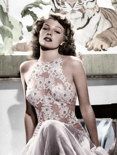 Rita Hayworth - fashion icon friday <3