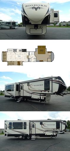 rvs: 3890Ss Bighorn Fifth Wheel Rv Camper Buy At Wholesale Only One Priced Like This -> BUY IT NOW ONLY: $55755 on eBay!