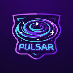 Pulsar Team designed by Dmitry Krino. Connect with them on Dribbble; the global community for designers and creative professionals. Game Logo Design, Logo Design Services, Space Patch, Video Game Logos, Sports Team Logos, Esports Logo, Logo Images, Design Inspiration, Neon Signs