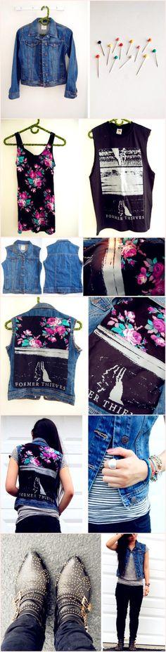 jeans jacket DIY - zzkko.com