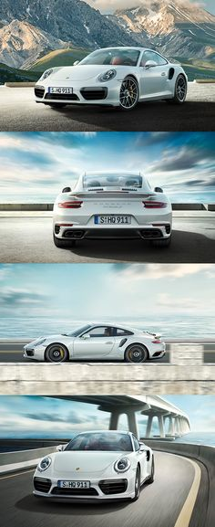 Once again, our engineers have achieved something really special. Staying true to the 911 Turbo and its resolute lineage of development – and yet simultaneously reinventing it. Fuel consumption* 911 Turbo models: Combined: 9,3-9,1 l/100 km; Emissions: 216-212 g/km.