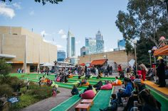 Cultural Center, Perth, Lighter, Centre, Dolores Park, Street View, Australia, Places, Travel