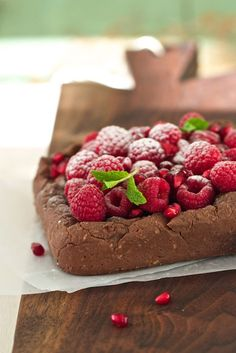 Chocolate Oatmeal Pudding Breakfast Cake