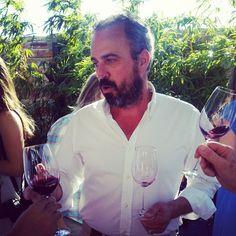 O João a falar dos seus vinhos