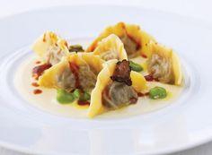 #Dubai for #foodies: Many #pasta dishes, including the Creste di Coda di Bue, include Claudio Melis' specialty of Norcia black truffle at #AltaBadia. // © 2015 TravelAge West/Alta Badia