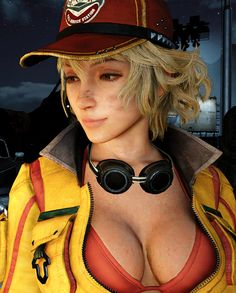 Cindy Final Fantasy Xv, Final Fantasy Artwork, Final Fantasy Characters, Fantasy Series, Female Characters, Final Fantasy Xv Wallpapers, Cindy Aurum, Street Fighter Characters, Video Games Girls