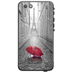 Trendy Accessories Red Umbrella Rain Paris Eiffel Tower Design Pattern Print Lifeproof Nuud iPhone 6 Plus Vinyl Decal Sticker Skin available at https://www.amazon.com/dp/B013QU7KT4 #vinyldecalsticker #iphone6 #customizediphone6vinyldecalsticker #iphone6accessories #mobileaccessories #redumbrellarainpariseiffeltower #tadesigns