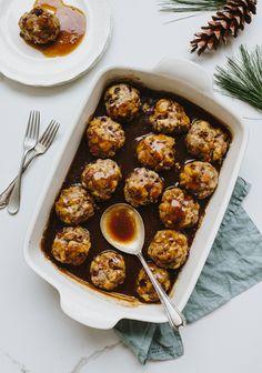 Potluck Recipes, Snack Recipes, Dessert Recipes, Meatball Recipes, Beef Recipes, Fingers Food, Good Food, Yummy Food, Xmas Dinner