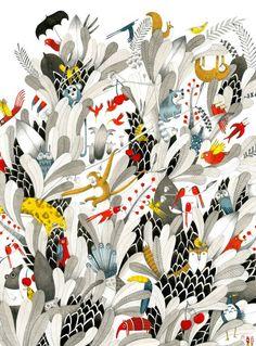 Marion Arbona   Illustration Quebec - WOW !