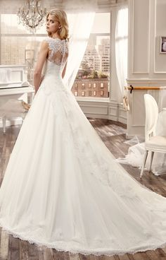 Nicole Spose 2016 vestido de novia
