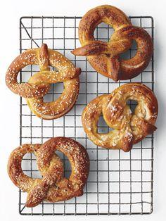 Homemade soft pretzels—make them sweet or savory!