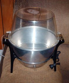 TOASTMASTER CORN POPPER MODEL 6204  500 WATTS UNUSED LID FOR BOWL #Toastmaster