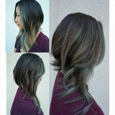 New hair cuts asimetric long short hairstyles Ideas Long Aline Haircut, Long Asymmetrical Haircut, Haircut Long, Aline Haircuts, Medium Hair Styles, Short Hair Styles, Angled Bob Hairstyles, Haircut And Color, Long Hair Cuts