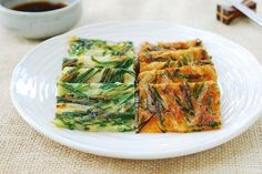 Korean Pancake Recipe From Scratch. Crispy Korean Pancake Recipe: Pajeon Recipes In 2019 . Korean Seafood Pancake Haemul Pajeon The 350 Degree Oven. Home and Family Rice Recipes, Side Dish Recipes, Asian Recipes, Cooking Recipes, Ethnic Recipes, Maangchi Recipes, Vegan Korean Food, Korean Pancake, Bbq Pork Tenderloin