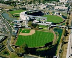 Steinbrenner Field in Tampa...Yankees spring training facility.