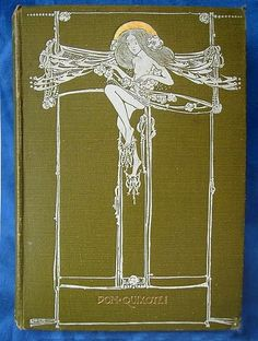 "Cover for ""Don Quixote"" - 1901, jessie m. king"
