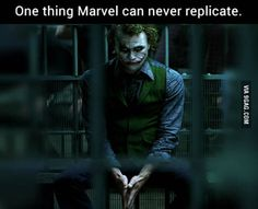 I'm not even a big fan of DC but only an idiot would say this is not true because this Joker can never be replicated(even by DC themselves)