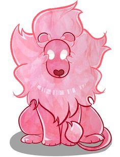 steven universe lion is rose - Google Search