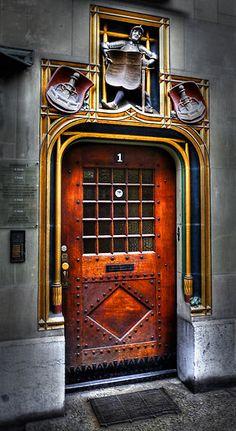 Bern Door - Switzerland