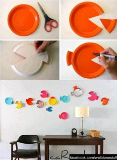 Great for a kiddies room.Creative