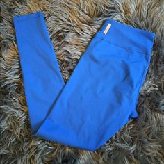 "Zella Leggings ""Live in leggings"". Worn once. Bought from Nordstrom. I do not trade Zella Pants Leggings Royal Blue Leggings, Fashion Tips, Fashion Design, Fashion Trends, Nordstrom, Workout, My Favorite Things, Live, Pants"
