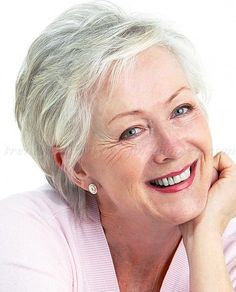 Pixie Cut for Over 60 | short haircut for women over 60