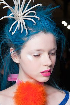 Avant-garde Hair |  Best Punk Beauty Looks On The Autumn Winter 2013 Catwalks | Fashion East Runway Show