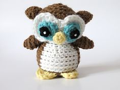 Who doesn't love owls? Nel is the 'little brother' of my most popular pattern, Nelson the Owl!