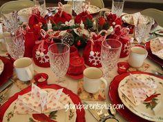 Christmas Tablescapes – Part 2
