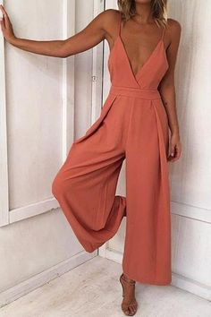 Polyester Fabric Approx Length 127-130cm V Neck Strappy Backless Back Tie-up Bowknot Solid Color Street / Sexy / OL Style 1 PC for 1 PAC AVAILABLE IN COLOR ORANGE-RED / BLACK / BLUE