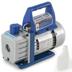1/3hp Rotary Vane Deep Vacuum Pump 3cfm R410a R134 HVAC AC Air Tool Freon Charge #Onebigoutlet