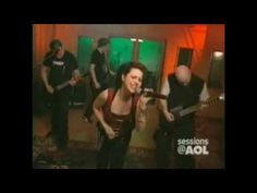 Evanescence • Bring Me To life  AOL SESSIONS 2003
