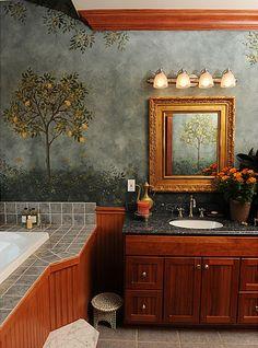 Attrayant Roman Style Fresco Bath