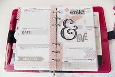 planner pages-francesotero- I love the neat, clean lines