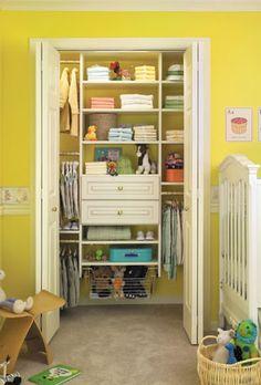 Closet office organizer