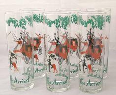 vintage drinking glasses - Google Search Vintage Cocktails, Pint Glass, Drinking, Glasses, Google Search, Prints, Eyewear, Beverage, Eyeglasses