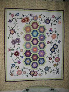 1 More Stitch: Grandmother's Flower Garden