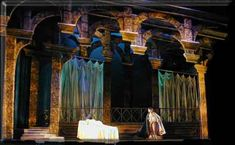 Romeo and Juliet Ballet - Set Design by Richard Finkelstein, Stage Designer
