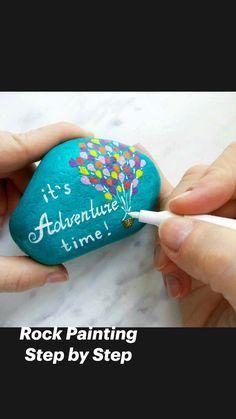 Stone Art Painting, Pebble Painting, Pebble Art, Diy Painting, Mandela Rock Painting, Painting Eggs, Shell Painting, Rock Painting Patterns, Rock Painting Ideas Easy