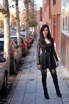 Goth street style